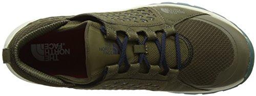 La North Face Men Mountain Sneaker Verde / Urban Navy