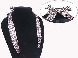 Ladies Cheetah Tiger Leopard Animal Print Pattern Halter Neck Style Bra Straps