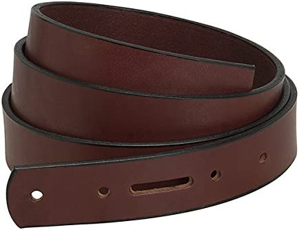 Weaver English Bridle Leather Belts Chestnut