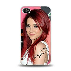iPhone 4 4S case protective skin cover with Pop Star Ariana Grande gorgeous design 3