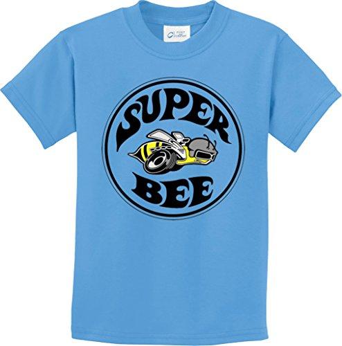 kids-dodge-super-bee-youth-t-shirt-aquatic-blue-xl