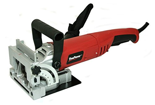 Gino Development 01-0102 TruePower Biscuit Plate Joiner with Carbide Tipped Blade, 4