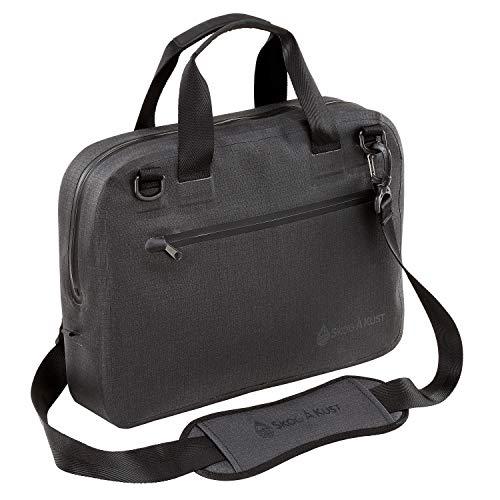 Skog Å Kust BriefSåk Pro 100% Waterproof & Airtight Messenger Bag   Black, 15