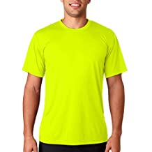 Hanes Adult Cool Dri Performance Tee (Safety Green) (2X)
