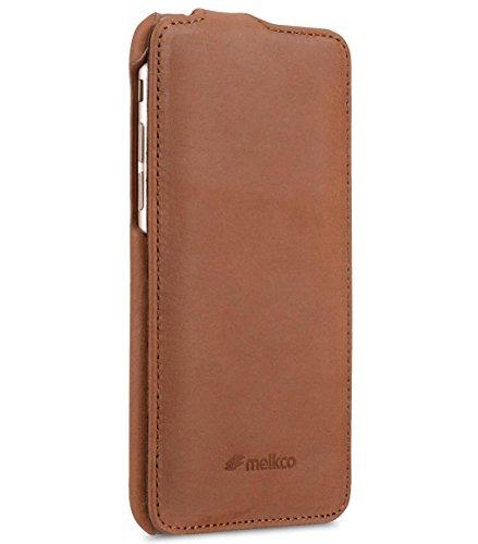 Apple Iphone 7 Melkco JACKAプレミアムレザー手作り良い保護を使っタイププレミアムレザーケース、プレミアムフィール?クラシックヴィンテージブラウン