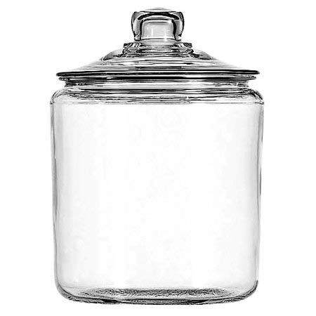 Anchor Hocking 1-gal Heritage Hill Jar with Glass Cover, (4 Pack)