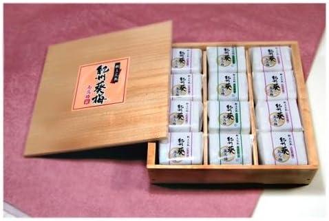 紀州南高梅 葵梅 12個包装 (12個入り)