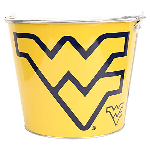 NCAA Anthem Full Color Team Logo Aluminum Beer Bucket (West Virginia ()