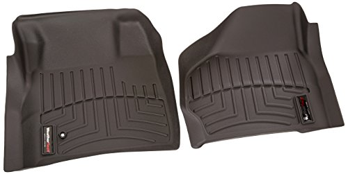 WeatherTech Custom Fit Front FloorLiner for Select Ford Models (Black) by WeatherTech