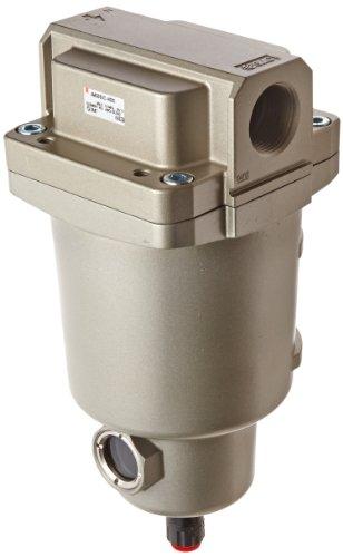 SMC AMG550C-N10D Water Separator, N.O. Auto Drain, 3,700 L/min, 1'' NPT by SMC Corporation