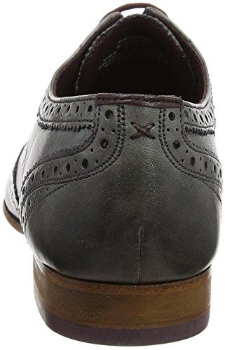Ted Baker Herren Mens Gryene Derby Brogue Shoes Derbys Grau (Light Grey)