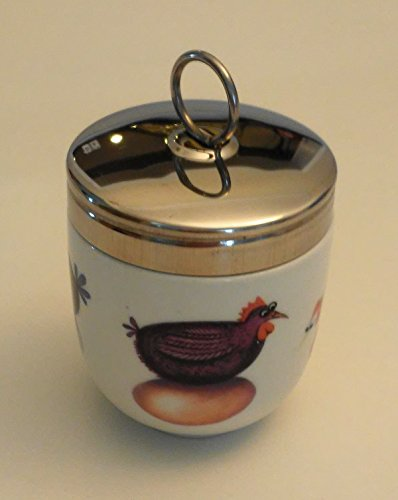 DRH Egg Coddler Hatching Eggs For Easy Cook Meals and Ways To Cook Eggs In Porcelain Dish