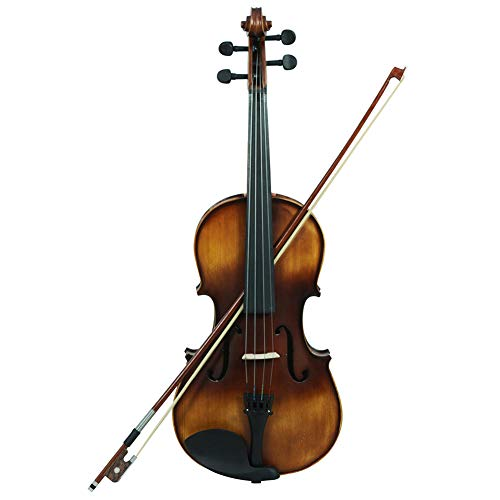 SODIAL VA-30 Retro matte Vintage matte viola for professional performances, music lovers by SODIAL