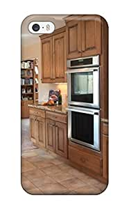 Hot New Built-ins Abound In Functional Transitional Kitchen Case Cover For Iphone 5/5s With Perfect Design