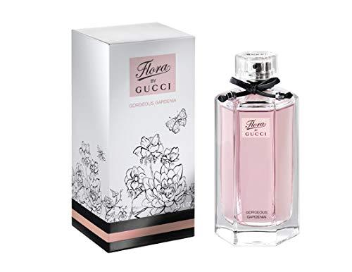 Gûcci Flora Gorgeous Gardenia by Gûcci Eau De Toilette Spray Perfume For Women (ORIGINAL) 3.3 FL. OZ./ 100 - Toilette Eau Gucci De Gardenia
