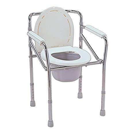 Buy KosmoCare Premium Imported Folding Commode with Seat Cover ...