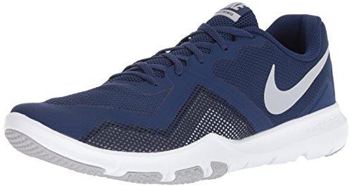 Grey Cross Stack - Nike Men's Flex Control II Cross Trainer, Blue Void/Wolf Grey - Midnight Navy, 12.5 Regular US