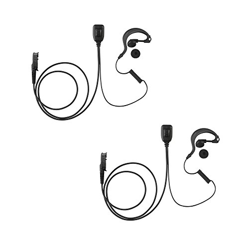 2 Pack Maxtop AEH1003-AX G-Sharp Earhanger Earphone, used for sale  Delivered anywhere in USA