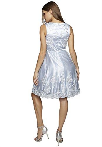 APART Glamour Vestido de gala Mujer Azul