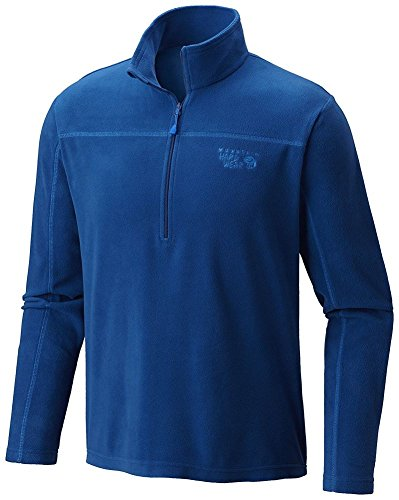 Mountain Hardwear Microchill Lite Zip T - Men's Nightfall Blue Medium by Mountain Hardwear