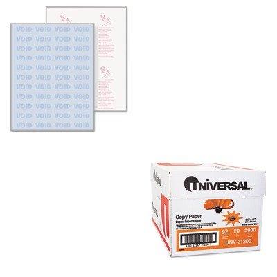 KITPRB04543UNV21200 - Value Kit - Paris Business Products DocuGard Security Paper (PRB04543) and Universal Copy Paper (UNV21200)
