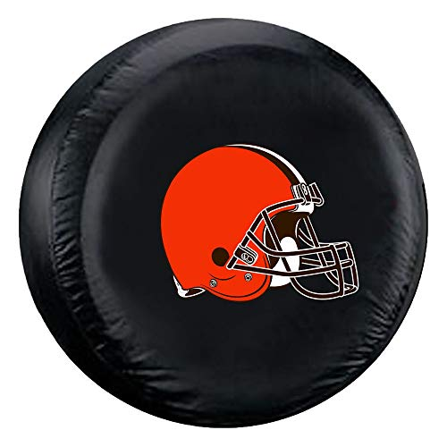 Fremont Die NFL Cleveland Browns Tire Cover, Large Size (30-32