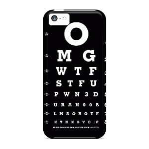 New Tpu Hard Case Premium Iphone 5c Skin Case Cover(optical Test)