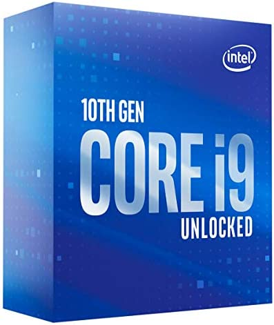 Intel Core i9-10850K Desktop Processor 10 Cores as much as 5.2 GHz Unlocked LGA1200 (Intel 400 Series chipset) 125W