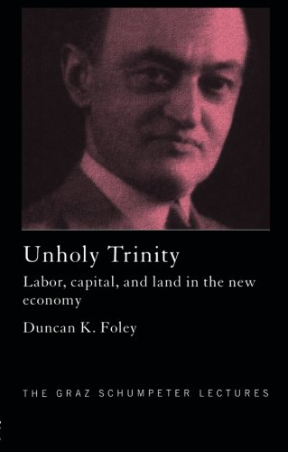 Unholy Trinity  Labor  Capital And Land In The New Economy  Graz Schumpeter Lectures