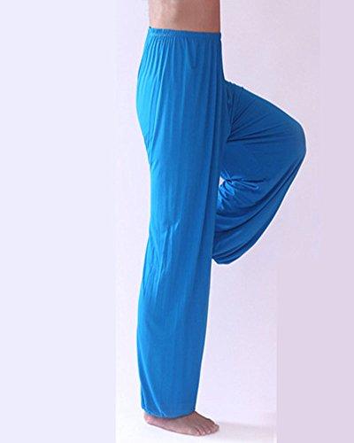 DianShao Pantalones De Yoga Suelto Y Cómodo Hombre Lounge Danza Fitness Pijama Pantalón: Amazon.es: Ropa y accesorios