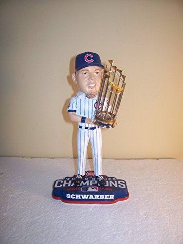 Kyle Schwarber Forever Collectible World Series Trophy Bo...