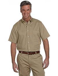 Men's Short-Sleeve Oxford Dress Shirt