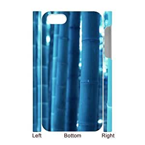 linJUN FENGALICASE Diy 3D Protection Hard Case Bamboo For iphone 4/4s [Pattern-2]
