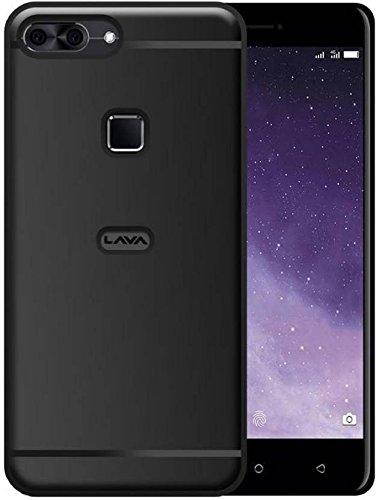best service 2444b 398f6 ECellStreet ECS 360 Degree Protection Soft Back Cover For Lava Z90 4G -  Black