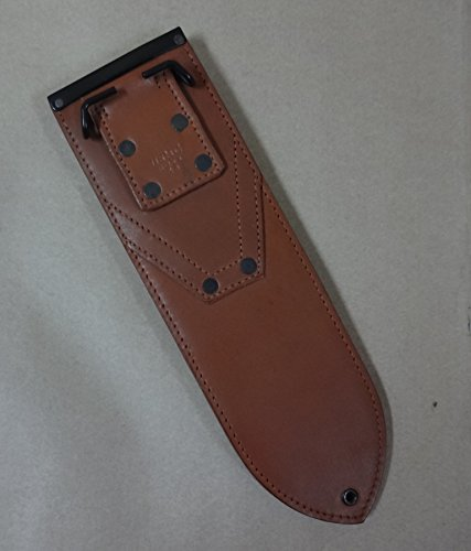 warreplica USMC WWII Pacific Theatre Jungle Machete Leather Scabbard For Sale