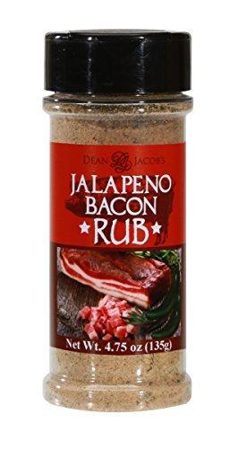 Jalapeno Rub (Dean Jacob's Jalapeño Bacon Rub -- 4.75 oz. Shaker Jar)