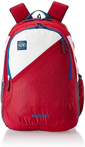 c4a9ce2bb6dd Wildcraft Polyester 46 Ltrs Red School Backpack (Wiki 7 Hue 7)  Amazon.in   Bags