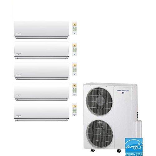 Thermocore T321Q-9+9+9+9+12 Mini Splits, White by Thermocore