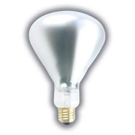 Amazon.com: 375 W BR40 calor lámpara transparente rígida ...