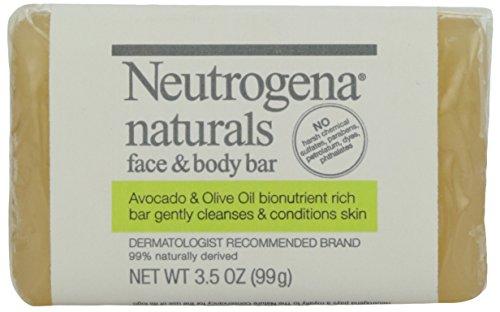 Neutrogena, Naturals Face and Body Bar, 3.5 oz