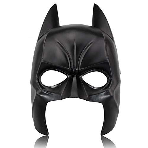 Batman Halloween Mask Party Resin Mask Half Face Batman -