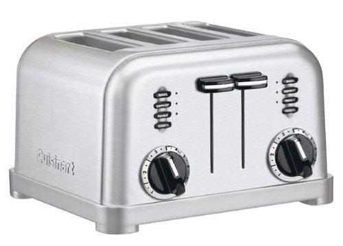 Cuisinart CPT-180 Metal Classic 4-Slice Toaster, Brushed Stainless (Cuisinart Toaster Classic compare prices)