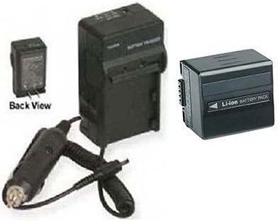 DZ-HS300E LCD USB Battery Charger for Hitachi DZ-HS300A DZ-HS301SW Camcorder DZ-HS301E