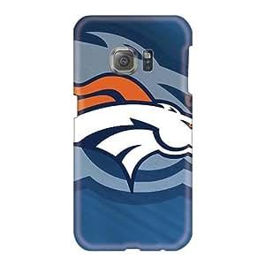 PhilHolmes Samsung Galaxy S6 Shock-Absorbing Hard Cell-phone Cases Custom Fashion Denver Broncos Image [fIH5567MvOJ]