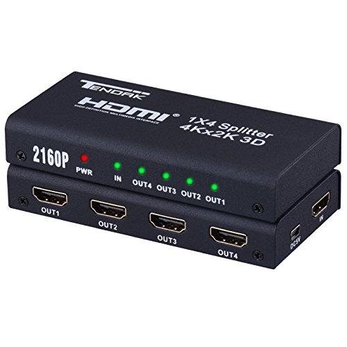 1X4 HDMI Splitter Amplifier Distributor