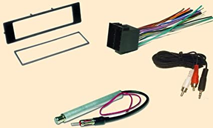 Amazon.com: Radio Stereo Install Dash Kit + wire harness + antenna adapter  for Audi A4 (1996 1997 1998 1999) , A6 (98-99), A8 (97-99), TT (2000 -  2001): Car Electronics | Audi Tt Dashboard Wiring Harness |  | Amazon.com