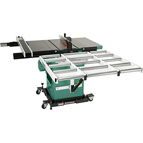Grizzly G1317 Outfeed Roller System for Table Saws, 37-Inch