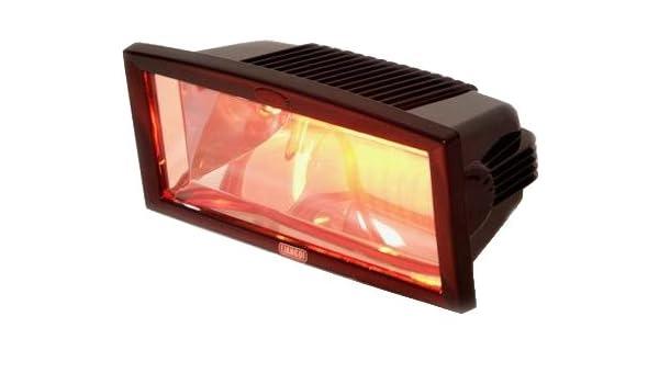 InfraredMagicSun - Estufa calentadora por infrarrojos (para terrazas), color negro: Amazon.es: Hogar