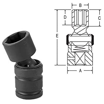 Grey Pneumatic 3027MD Socket 42306