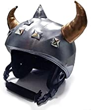 stretcheeHeads 503 Spandex Helmet Covers The Viking, 1 Count One Size